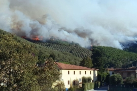 Blazes take hold in southern Europe forcing more than 700 people from their homes. [EPA]
