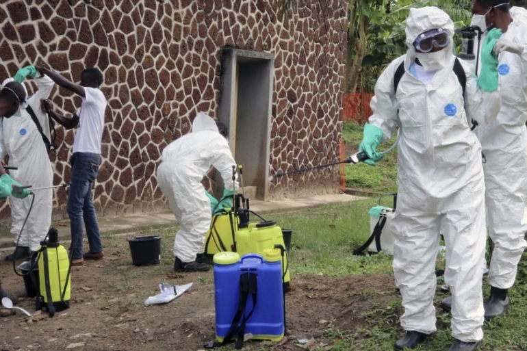 Rebel attacks in DR Congo have severely complicated Ebola containment efforts [File: John Bompengo/AP Photo]