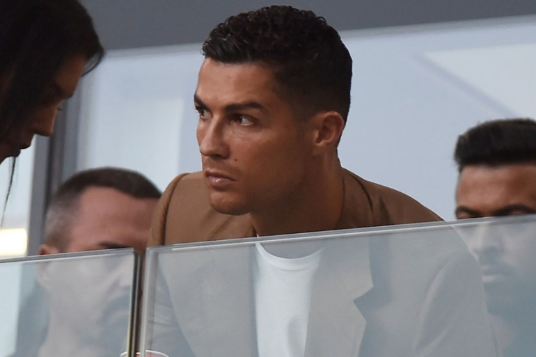 "Ronaldo said he would ""await with tranquility the results of any and all investigations"" [File: Massimo Pinca/Reuters]"