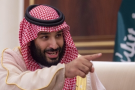 Crown Prince Mohammed bin Salman called Khashoggi's murder a 'heinous crime' [Bandar AlGaloud/Saudi Kingdom Council]