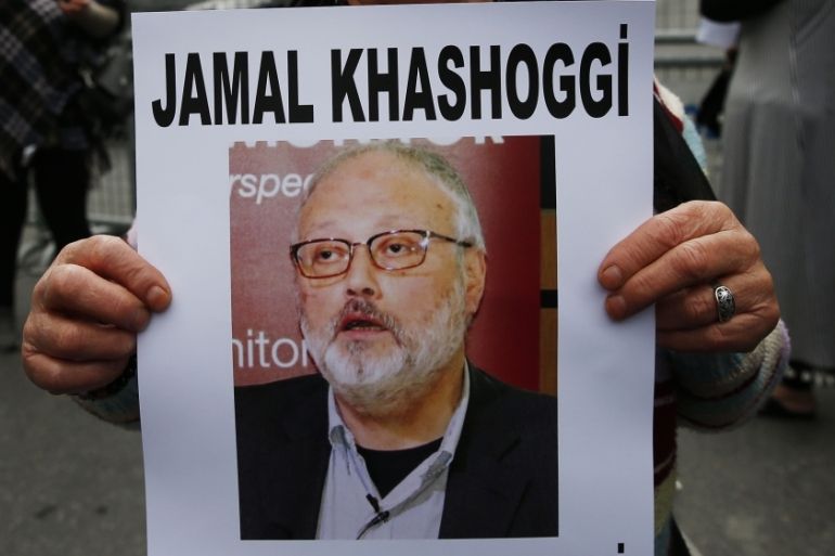 Khashoggi went missing after entering the Saudi consulate in Istanbul on October 2 [Lefteris Pitarakis/AP news]