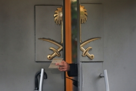 Khashoggi entered the Saudi consulate in Istanbul on October 2. He has not been seen since [Petros Giannakouris/AP]
