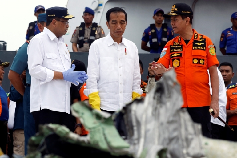 The accident on Monday has resurrected concerns about Indonesia's patchy air safety record [Reuters]