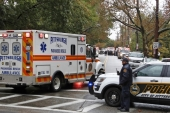 A white male gunman has been taken into custody on October 27 after killing 11 people and injuring six others, including four police officers in a synagogue in Pittsburgh, US [Reuters]
