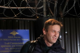 Putin-critic Alexei Navalny spent 50 days behind bars for organising several protests [Maxim Shemetov/Reuters]