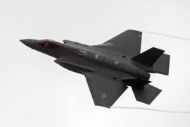 The sale includes products from privately held General Atomics, Lockheed Martin Corp F-35s and missiles made by Raytheon [Valda Kalnina/EPA]