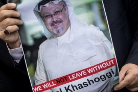 The case of missing Saudi journalist and critic of the Saudi royals, Jamal Khashoggi.