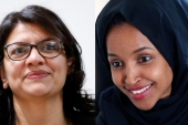 Rashida Tlaib (L) and Ilhan Omar's (R) trailblazing victories help reclaim some of the hope lost with the election of Trump on 11/9, writes Beydoun [AP]