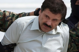 Accused drug lord Guzman was extradited from Mexico to the United States in 2017 [File: Eduardo Verdugo/AP]