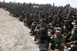 The explosion targeted members of the 2nd regiment of the Afghan national army [File: Reuters]