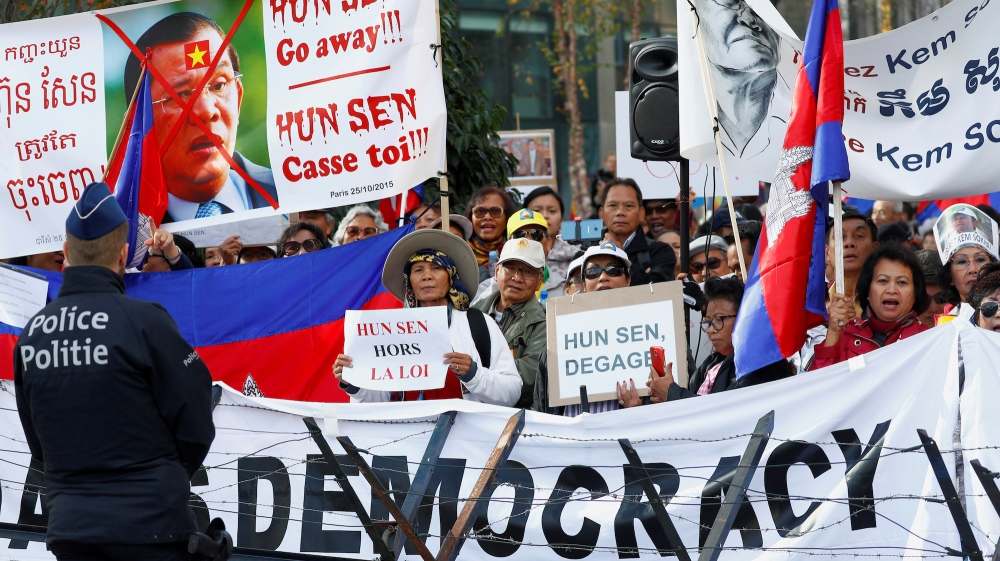 Image result for cambodia democracy protest
