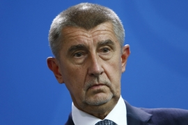 Babis was investigated by local and EU authorities last year of hiding ownership of a farm and conference centre [Michele Tantussi/Reuters]