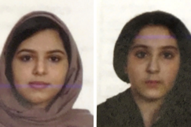 Rotana, left, and Tala, right, were found dead in October 2018 on the banks of the Hudson River [NYPD via The Associated Press]