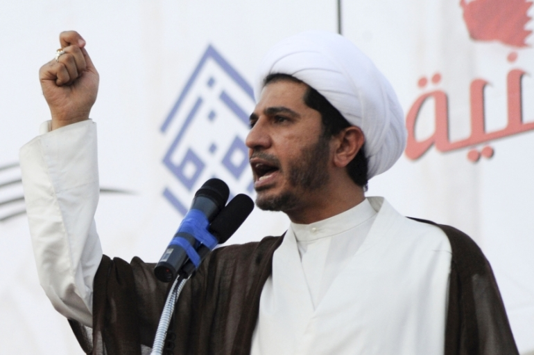 Sheikh Ali Salman is currently serving a four-year sentence in a separate case [File: Hamad I Mohammed/Reuters]