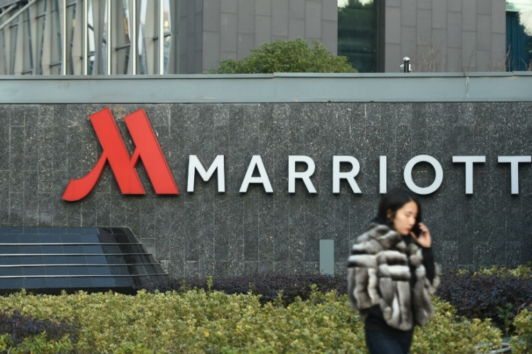 Marriott has not commented on the identity of the likely hackers [China Stringer Network/Reuters]