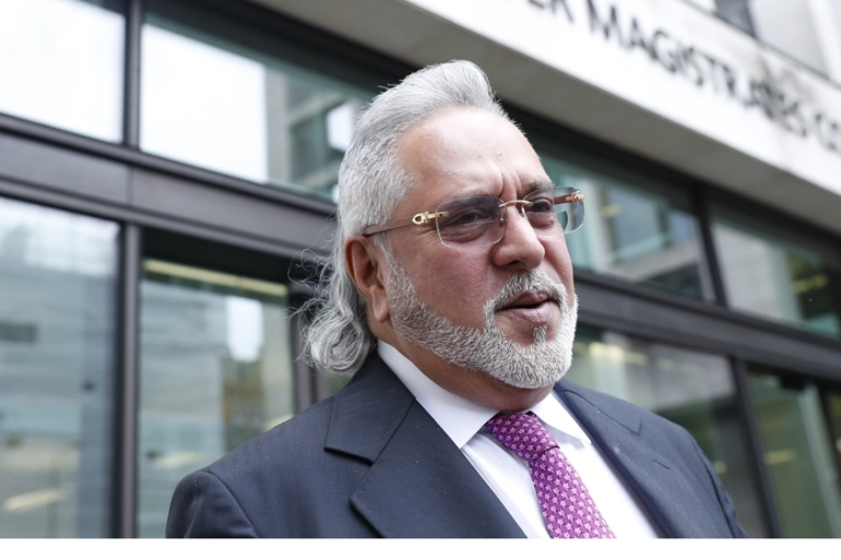 Vijay Mallya appears in Westminster Magistrates Court on Monday after his long-running fight against extradition to India [File: Alastair Grant/AP)