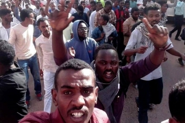 Sudan trade unions call for march to presidency as protests grow
