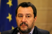 Rather than moving towards the centre, since taking on the role of the country's de facto leader, Salvini pushed his far-right rhetoric even further, writes Mammone [Reuters]