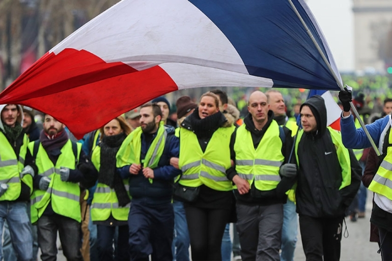 Why Are France S Yellow Vest Protests So White France News Al Jazeera