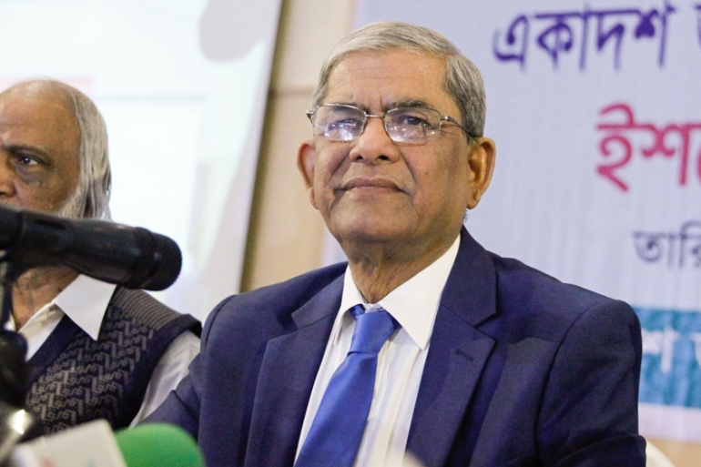BNP leader Alamgir said the rigging was facilitated by government agencies [Mahmud Hossain Opu/Al Jazeera]