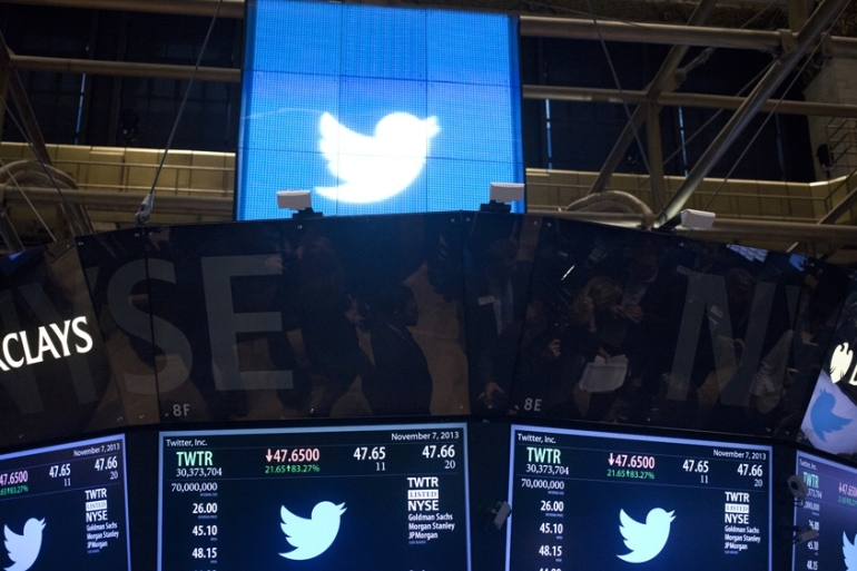 Twitter said it discovered suspicious traffic to a customer-support forum [File: Lars Niki/Getty Images]