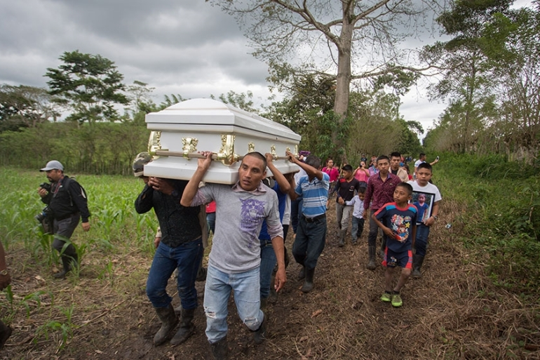 Jakelin died on December 8, two days after she was taken into custody at the border [Jeff Abbott/Al Jazeera]