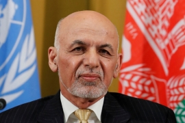 President Ashraf Ghani attends a two-day conference on Afghanistan at the United Nations in Geneva on November 27, 2018  [File: Denis Balibouse/Reuters]