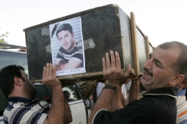 Reuters photographer Namir Noor-Eldeen and his colleague Saeed Chmagh were killed by US soldiers in Baghdad on July 12, 2007 [Reuters/Mohammed Ameen]