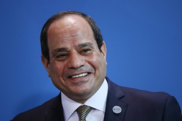 Egyptian President Abdel Fattah el-Sisi said in televised comments that Egyptians must change their habits to shed their excess fat [Sean Gallup/Getty Images]