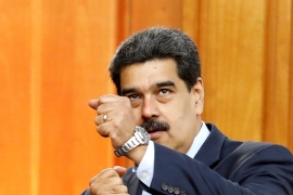 Maduro told CNN that he was open to dialogue with President Donald Trump [Manaure Quintero/Reuters]