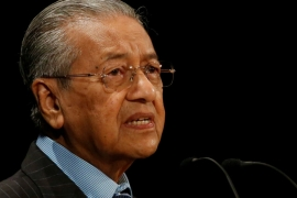 A new government under Mahathir Mohamad took power in Malaysia last year and is implementing a five year plan to tackle corruption. [Issei Kato/Reuters]