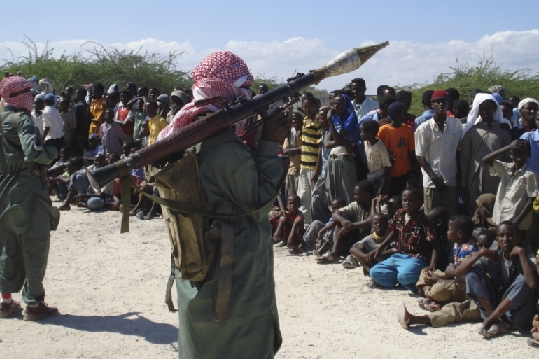 Abdiasis Abu Musab, military operation spokesman for the al-Qaeda-linked al-Shabab, said the group was behind the attack [File: Mowlid Abdi/Reuters]