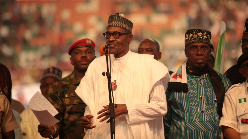 Nigeria names new military chiefs amid spreading militant violence