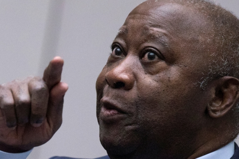The appeals chamber backed the prosecution arguments that Gbagbo might not return for future court hearings [Peter Dejong/Reuters]