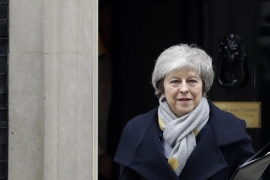 May's victory gives her temporary respite as she attempts to forge a new deal with EU acceptable to majority MPs [File: Kirsty Wigglesworth/AP]