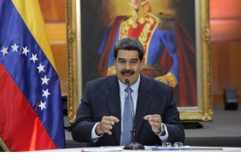 Maduro to revise US diplomatic ties after Pence backs protesters