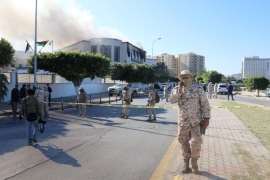 In August and September, the same militias also fought for control in Tripoli [File: Hani Amara/Reuters]