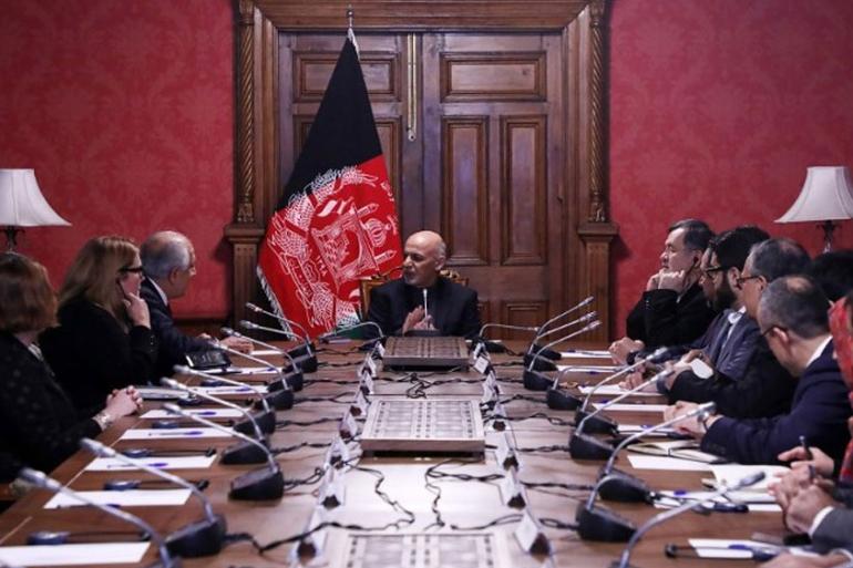 Recent meetings between Afghan President Ashraf Ghani, the US special representative and the Taliban have been relatively successful  [AFP]