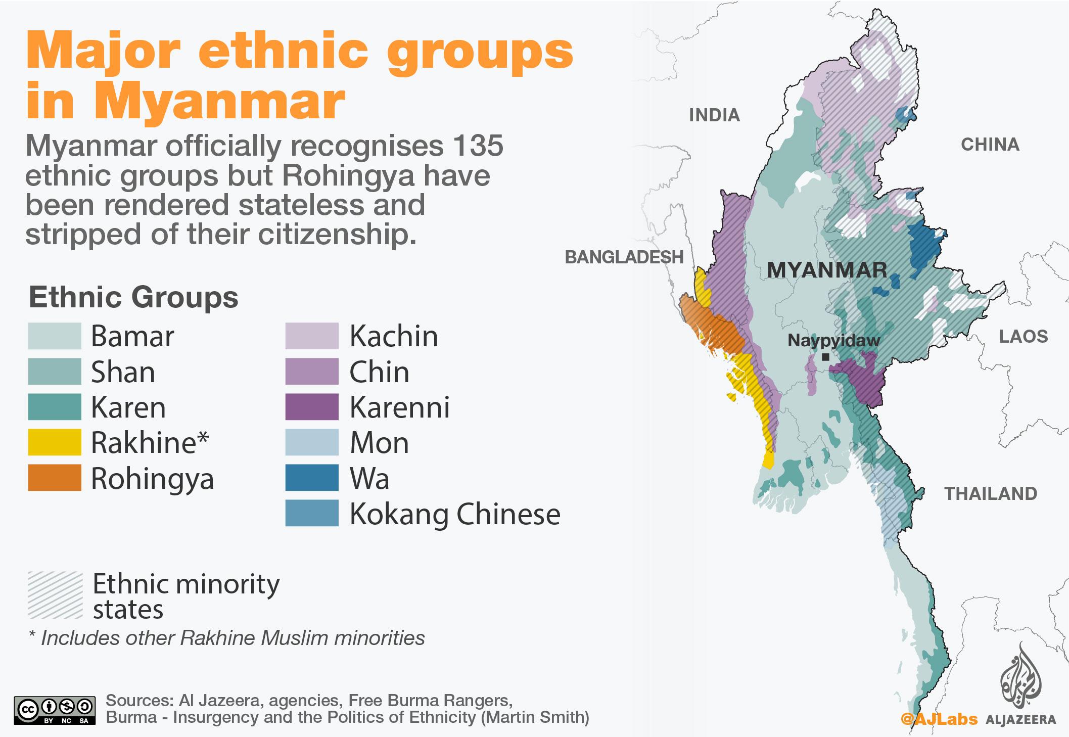 Rohingya Crisis Explained In Maps Asia Pacific Al Jazeera