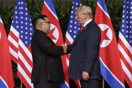 'Six months after his historic summit with Kim Jong-un in Singapore, US President Donald Trump has still not succeeded in his goal of getting the North Korean leader to relinquish his nuclear weapons' [FILE: The Associated Press]