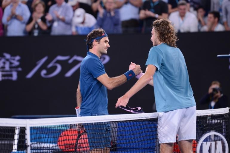 Federer Knocked Out Of Australian Open By Tsitsipas Sports News Al Jazeera