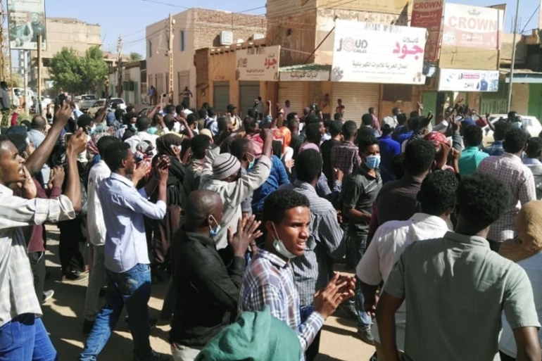 Police used tear gas to disperse protests in Sudan's capital Khartoum and other cities [AFP]