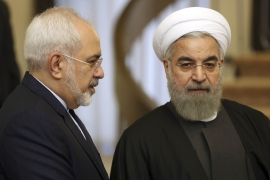 Zarif has been a key player in Hassan Rouhani's government for years [Vahid Salemi/AP Photo]