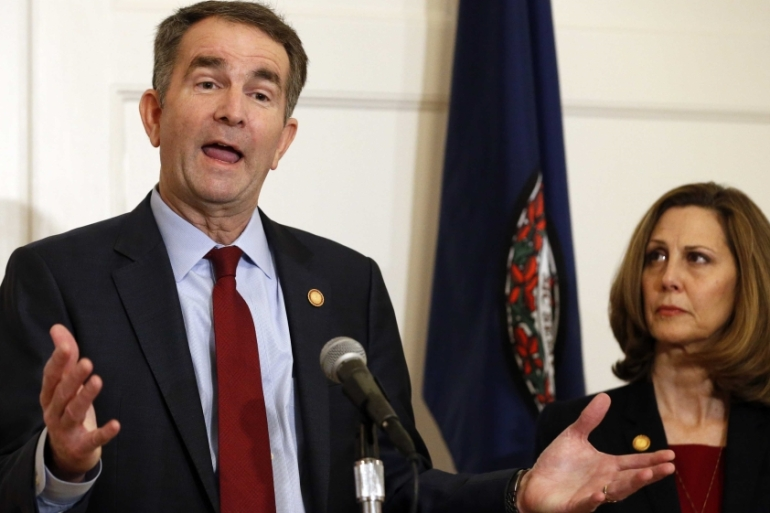 Virginia Governor Ralph Northam is under fire for a racial photo that appeared in his college yearbook [File: Steve Helber/AP]