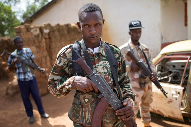 Fourteen armed groups control most of the Central African Republic for the past seven years [Baz Ratner/Reuters]