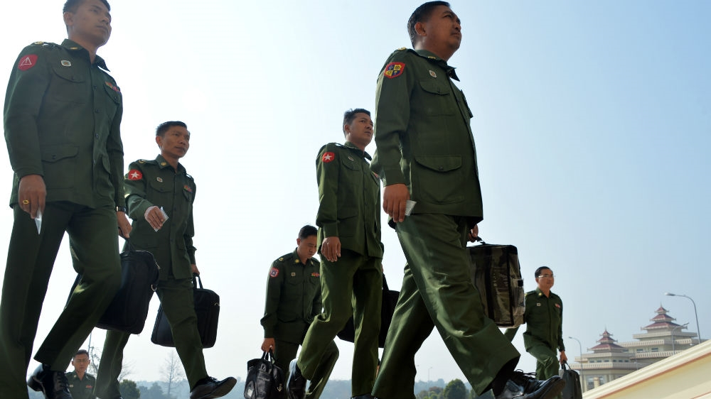 Myanmar government ups the ante with military over political role   Aung  San Suu Kyi News   Al Jazeera