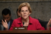 Democratic Senator Elizabeth Warren's claim to Native American ancestry has caused much controversy in the US [Reuters]