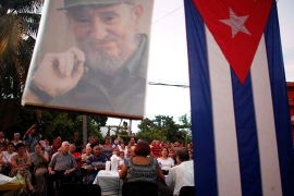 Cubans attend a public political discussion to revamp a Cold War-era constitution in Havana [Tomas Bravo/Reuters]