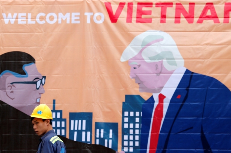 The Vietnamese capital of Hanoi will host the second summit between Kim and Trump [Kim Kyung-Hoon/Reuters]