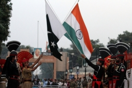 India and Pakistan have fought three major wars since gaining independence from the British rule in 1947 [KM Chaudary/AP]